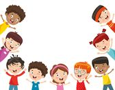 Illustration Of Cartoon School Children With Book Isolated Royalty Free Cliparts, Vectors, And Stock Illustration. Kids Reading Books, School Children, Banner Printing, Happy Kids, Image Photography, Royalty Free Images, Kids Playing, Vector Art, Vectors