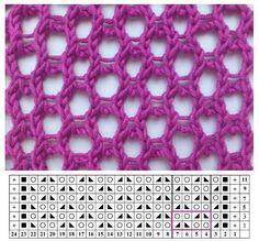 Lace Knitting Patterns, Knitting Stiches, Arm Knitting, Knitting Charts, Lace Patterns, Knitting Socks, Knitting Designs, Stitch Patterns, Crochet Yarn