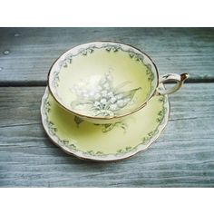 Vintage Bride Tea Cup and Saucer by Paragon Lily of the Valley