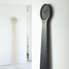 tidvis wall grandfather clocks by johan forsberg