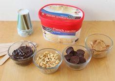 Delicious Chocolate Peanut Butter Ice Cream Pops #Food #Drink #Trusper #Tip