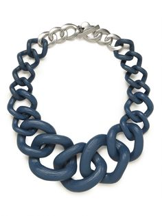 our blue jurassic collar makes a bold statement!
