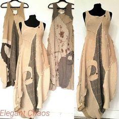 Fashion Style Chic Elegant 39 Ideas For 2019 Fashion Sewing, Boho Fashion, Fashion Dresses, Womens Fashion, Unique Outfits, Boho Outfits, Mode Boho, Linen Dresses, Dress Patterns