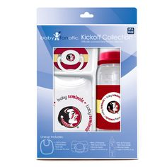 Baby Fanatic Ncaa Florida State Seminoles 3-piece Baby Gift Set