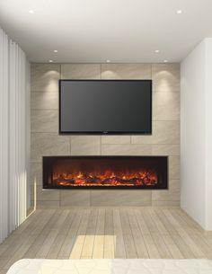 "Modern Flames Ambiance CLX 40-Inch Electric Fireplace - AL40CLX-G 40"" - 55.75W x 12D x 22.5H  $1699"