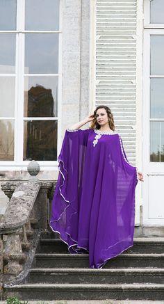 Robe de Dubaï, Modèle Lilas
