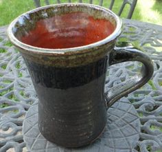 Pottery Mug in Death Valley Stoneware in by NancyBloklandPottery, $20.00