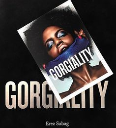 Another sneak pick from my brother #Photographer #ErezSabag new #Beauty concept book #gorgiality ➡️ Don't  MISS the BIG Exhibition OPENING NIGHT �� Thursday May 11 6PM-10PM at 524w26th street Gallery �� amazing art and lots n lots of fun ✌️��✌️��✌️��✌️�� #gorgeous #beauty #beautybook #empowerment #identity #gorgialitybeauty #beautyphotography #photography #art #artbook #fashion #nyc #makeup #love  #georginabillington #davidwarren #eddagud #lookgoodfeelbetter @erezsabag…
