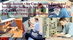 Service Doctors provides all days customer service to repair heating and air conditioning with Plumbing system and also provides professional technicians .  Phone - +1 703-659-0317 Visit - http://www.servicedoctors.net/air-conditioning