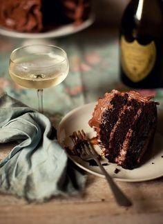 Dom & chocolate cake!