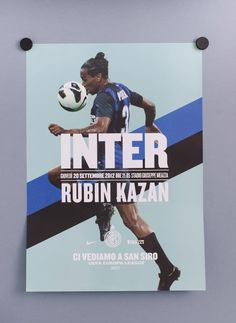 Inter 2012-13 Season Ticket Campaign by Leftloft (Milan/New York City). Winning International Design Awards project. Enter now to be featured in HOW magazine: http://www.howdesign.com/design-competitions/international-design-awards/