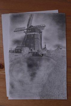 Windmill by GabrielaSzabova on Etsy