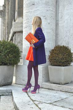 Orange and purple? who knew