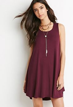 Jersey Trapeze Dress | Forever 21 - 2000156047