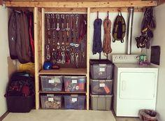 Gear closet of @pontxadventures #gearstoke #weighmyrack
