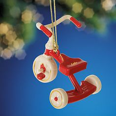 Tricycle Ornament by Lenox