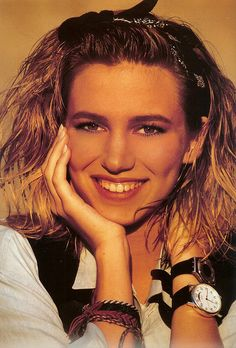 "Debbie Gibson - ""Electric Youth"".  I played that song like..24/7.  Two watches on one wrist??!!!??"