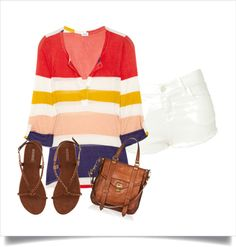 Casual summer wear, created by galipeauc on Polyvore