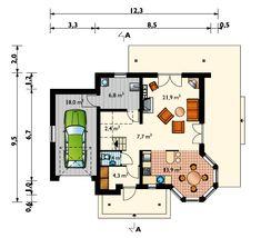Plan Parter Design Case, Floor Plans, Model, Houses, Scale Model, Pattern, Models, Modeling