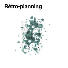 RETRO-PLANNING Ce n'est pas : La version old school de l'aquaplaning // C'est : un planning conçu à partir de la date de fin du projet, puis complété en remontant le temps. C'est une méthode simple et efficace pour planifier toutes les séquences d'un projet lorsque la date de fin de projet est fixe et inébranlable.  #themot #graphic #design #word #typography #retro #planning