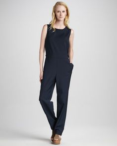 Masha Twill Jumpsuit by MARC by Marc Jacobs at Neiman Marcus.