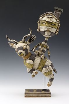 Sculptures by Calvin Ma - Art People Gallery. CALVIN MA _ I UTILIZE THE ACTION FIGURE FORM IN MY SCULPTURAL WORK TO EXPLORE PERSONAL ISSUES AND STRUGGLES WITH SOCIAL ANXIETY.