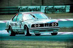 1981-86 BMW 635CSi (E24), three-time European Touring Car Championship winner