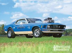 1970 Mustang Boss 429 Monthly Magazine Ford Shelby Cobra Mach 1