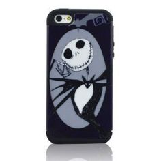 I Need (TM) Stylish 2 In 1 The Nightmare Before Christmas Hard Cover Hybrid Black Soft Silicone Case Cover Compatible for Apple Iphone 5 by I Need Shop, http://www.amazon.com/dp/B00D4J3GBE/ref=cm_sw_r_pi_dp_TmGZrb1ZYPN3B