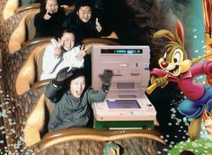 ATM Spotted At Disneyland On Public Holiday Vacation