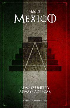 #GameofThrones House mexico
