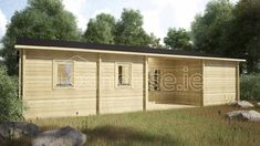 BUDGET THREE BED LOG CABIN x Free shingle roof tiles, damp proof membrane and free floor insulation. Delivered by loghouse. Roof Boards, Floor Insulation, Double Glazed Window, Roof Tiles, Cabin Interiors, Cabins In The Woods, Windows And Doors, Tiny House, Outdoor Structures