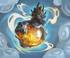 Card Name: Dragonfire Potion Artist: Charlene Le Scanff ✖