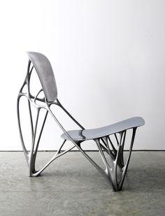 Joris Laarman Lab | Bone Chair | 2006 | Aluminum