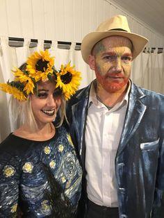 Van Gogh and Starry Night Costume