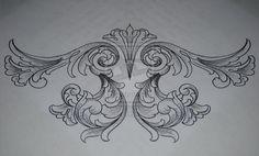 filigree tattoo | Filigree Under-bust Tattoo Request by KrisHanson on deviantART