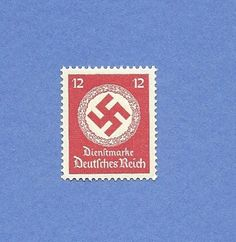 12 Reichsphennig /  Nazi Germany Stamp to be used by by dirk12955, $4.00