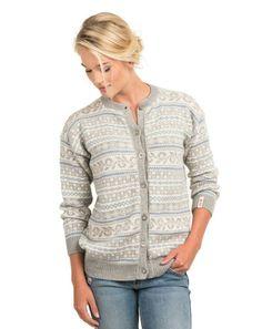 Voss retro kofte i nydelig babyalpakka fra A Knit Story. Sweaters For Women, Men Sweater, Fair Isles, Fair Isle Knitting, Vintage Knitting, Knit Cardigan, Knit Crochet, What To Wear, Knitting Patterns