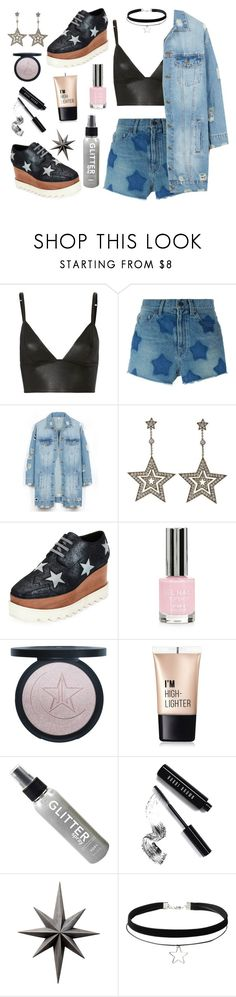 """""""You're a Star 🌟"""" by lovekaitlin ❤ liked on Polyvore featuring T By Alexander Wang, Yves Saint Laurent, LE3NO, Tiffany & Co., STELLA McCARTNEY, Topshop, Charlotte Russe, Bobbi Brown Cosmetics and Cyan Design"""