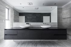 Founded by award-winning Perth residential architect Simone Robeson, Robeson Architects specialises in designing flexible and efficient contemporary homes. Residential Architect, Architect Design, Inglewood House, Triangle House, Fireclay Sink, Kitchen Showroom, Contemporary Vanity, Water House, Floating Vanity