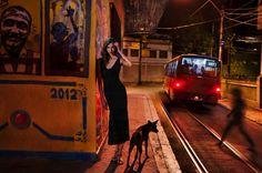 Karlie Kloss by Steve McCurry for the Pirelli Calendar 2013