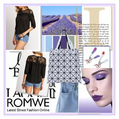 """ROMWE"" by damira-dlxv ❤ liked on Polyvore"