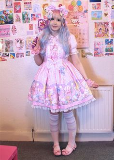 Wearing my first coord with my new dream dress!