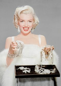 """missmonroes: """""""" Marilyn Monroe photographed for How to Marry a Millionaire (1953). """" """" Same"""