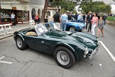 1963 Shelby Cobra 289 at the Carmel By The Sea Concours on the Avenue