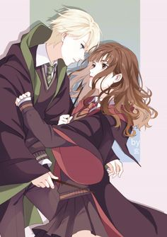 Image result for draco x hermione