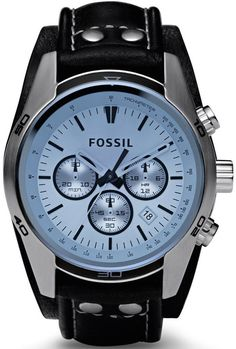 Fossil Watch Coachman Gents #bezel-fixed #bracelet-strap-leather #brand-fossil #case-depth-13mm #case-material-steel #case-width-45mm #chronograph-yes #clasp-type-tang-type-buckle #date-yes #delivery-timescale-call-us #dial-colour-blue #fashion #gender-mens #movement-quartz-battery #official-stockist-for-fossil-watches #packaging-fossil-watch-packaging #style-sports #subcat-coachman #supplier-model-no-ch2564 #warranty-fossil-official-2-year-guarantee #water-resistant-100m