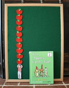 Math and a book for Kids: Counting with Ten Apples Up On Top!