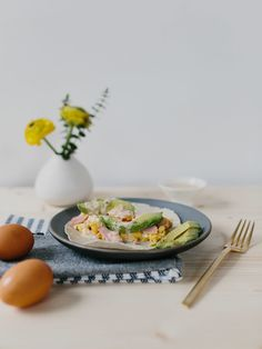 Easter Leftover Honey Ham Breakfast Tacos with Chipotle Crema - The Effortless Chic