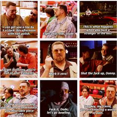 Some of the best Walter quotes - The Big Lebowski